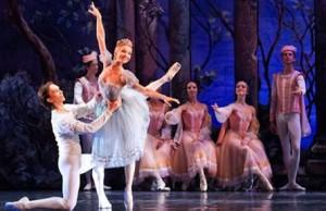 Una scena del balletto Il Lago dei Cigni