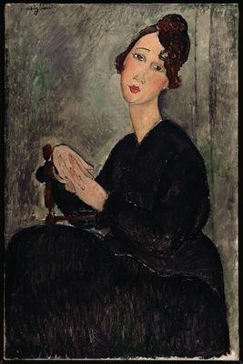 Modigliani, Ritratto di Dédie