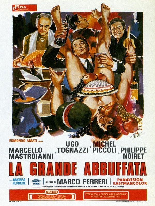 Risultati immagini per la grande abbuffata film 1973