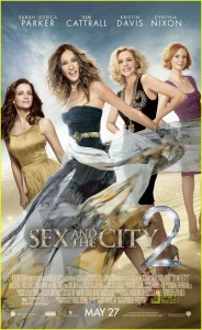 sex and the city 2 poster locandina