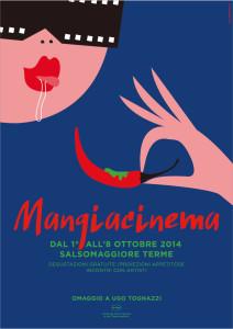 locandina mangiacinema grafica