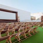 Tallin roof cinema