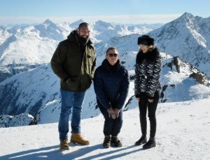 Bond 24 film shooting in Austria