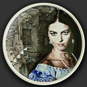 g_Ersoy_Yilmaz,_Stone_mescid_(2013),_ceramica_dipinta,_diametro_cm_40