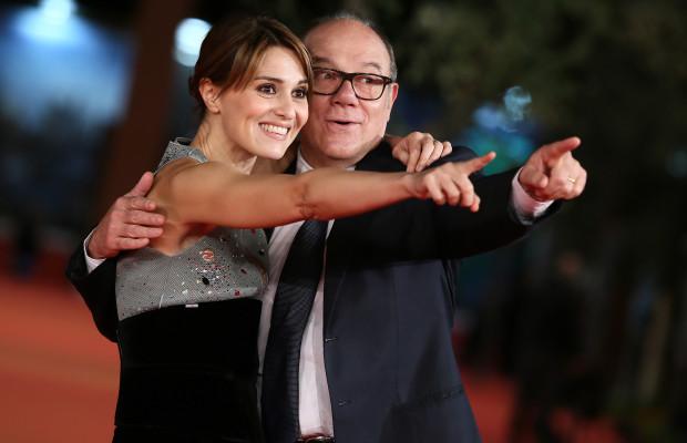 Carlo Verdone e Paola Cortellesi Red Carpet  - The 10th Rome Film Fest