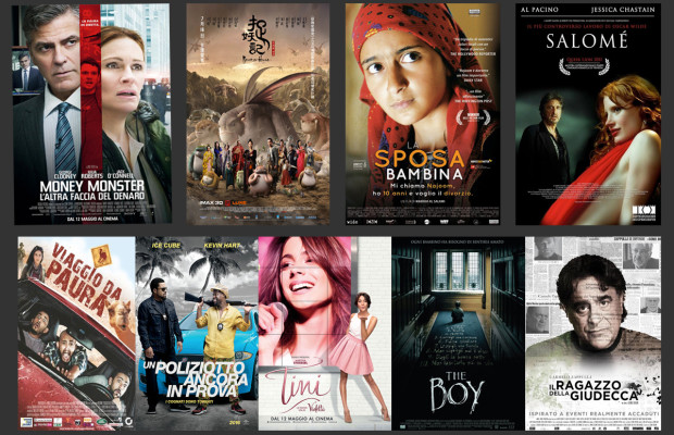 novità al cinema dall'11 maggio