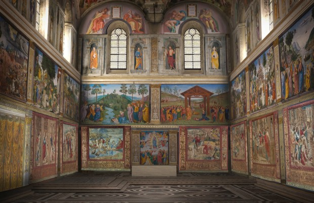 Raffaello3D_Ricostruzione_Cappella Sistina