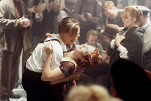 Leonardo DiCaprio and Kate Winslet Titanic Baja California 1996 ℗Douglas Kirkland