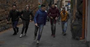 4 MALARAZZA_ Antonino Frasca Spada ( secondo da sx, con la banda del quartiere)