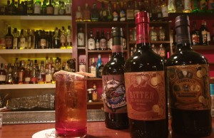 drink BUBBLES NEGRONI  di Andrea Pomo bartender del The Jerry Thomas Speakeasy di Roma