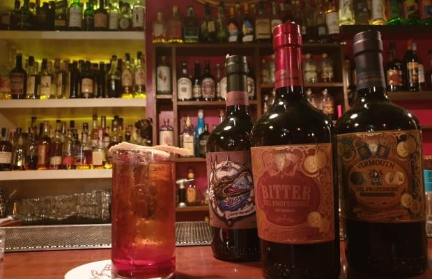 drink BUBBLES NEGRONI  di Andrea Pomo bartender del The Jerry Thomas Speakeasy di Roma